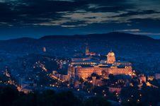 The Royal Palace Of Buda Stock Image