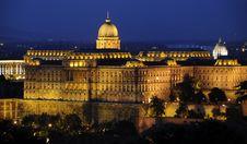 The Royal Palace Of Buda Royalty Free Stock Photography
