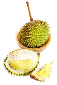 Durian Asian Fruits Series 02 Stock Images
