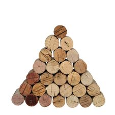 Free Pyramid From Corks Stock Photography - 10202212