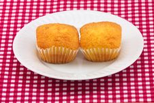 Delicious Colorful Cakes Royalty Free Stock Photos