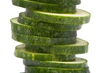 Free Cucumber Slices Royalty Free Stock Image - 10203266