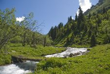 Free Beautiful Mountains Landscape Stock Photography - 10203642