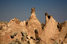 Free Cappadocia Rock Landscapes Royalty Free Stock Image - 10203736