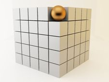 Free Cubes 3d Stock Photo - 10203810