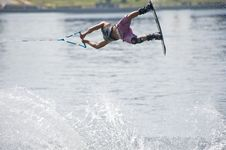 Free Wakeboard Competitor Stock Photos - 10203813