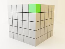 Free Cubes 3d Royalty Free Stock Image - 10203816
