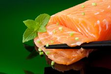 Free Salmon Royalty Free Stock Image - 10203936