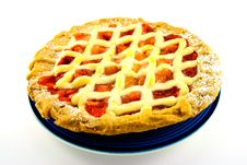 Free Apple And Strawberry Pie Stock Photo - 10204130