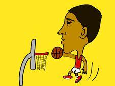 Free Slam Dunk Stock Image - 10204231