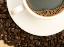 Free Cup Of Coffee Royalty Free Stock Image - 10204376