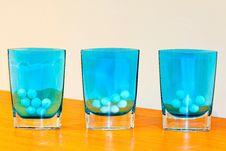 Free Blue Glass Stock Photo - 10204880