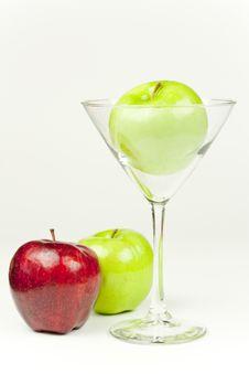 Free Apple Martini Royalty Free Stock Photos - 10205598