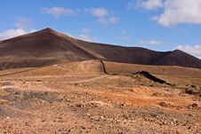Free Typical Lanzarote Landscape Stock Images - 10205684