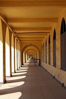 Free Historic Arched Walkway Stock Images - 10206754