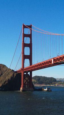 Free Golden Gate Bridge Royalty Free Stock Photo - 10206825