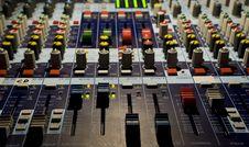 Sound Producer Mixer Stock Photography