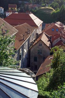 Free Campo Ligure S Roofs Royalty Free Stock Photography - 10207557