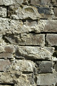 Free Old Brick Wall Royalty Free Stock Images - 10207669