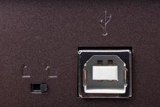 Free USB Slot Stock Photography - 10207682