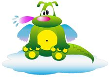 Free Cute Dragon Royalty Free Stock Images - 10207799