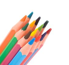 Free Color Pencils Royalty Free Stock Image - 10208046