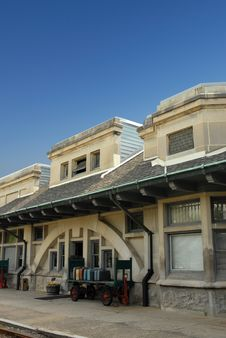 Free Old Train Station Royalty Free Stock Photos - 10208078