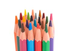 Free Color Pencils Royalty Free Stock Images - 10208109