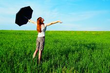 Free Umbrella Royalty Free Stock Photography - 10208297