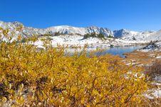 Free Mountain Lake Royalty Free Stock Images - 10208569