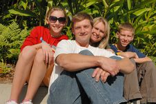 Free Family On A Trip Royalty Free Stock Images - 10208579