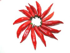 Free Red Peppers Royalty Free Stock Images - 10209149