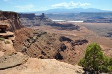 Dead Horse Point Overlook Stock Images
