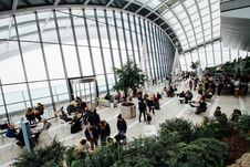Free Adults, Airport, Architectural, Design Royalty Free Stock Image - 102093916