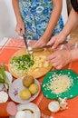 Free To Prepare Salad. Stock Photo - 10210970