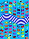 Free Cheerful Motley Fishes Royalty Free Stock Photography - 10215547