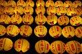 Free Chinese Style Yellow Lanterns Stock Photos - 10216303
