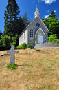 Free An Old, Small Stone Church Royalty Free Stock Photos - 10218668