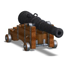 Free Ship Cannon Royalty Free Stock Image - 10210066