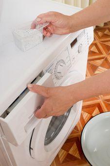 Free Washing Machine. Stock Photography - 10210492