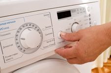 Free To Include A Washing Machine. Stock Image - 10210611
