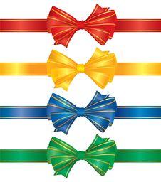 Bows And Ribbons Stock Photos