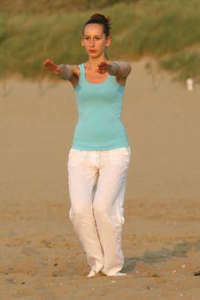 Free Breathing Exercises Royalty Free Stock Photos - 10211328