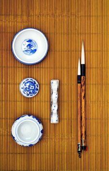 Free Chinese Writing Brush Stock Photos - 10211623
