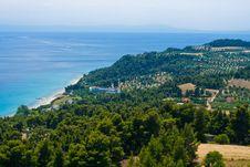 Marine Landscape. Royalty Free Stock Photo