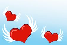 Free Love Hearts Royalty Free Stock Photos - 10212428