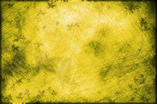 Free Yellow Grunge Background Stock Image - 10212631