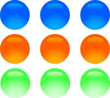 Free Color Balls Stock Photo - 10212940