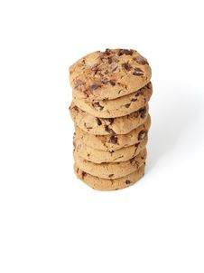 Free Chocolate Chunk Cookies Stock Photo - 10214200