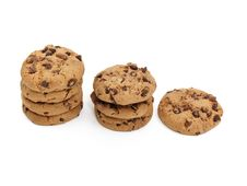 Free Chocolate Chunk Cookies Royalty Free Stock Image - 10214206